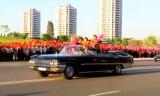 平壌市民が混合W優勝者を熱烈に歓迎