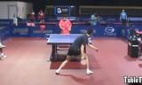 世界卓球2011での馬龍の練習風景を紹介