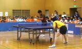 【卓球】 小野竜也VS濵川明史 日本リーグ2013