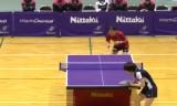 【卓球】 石川佳純VS肖萌2 日本リーグ2013前期