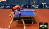 【卓球】 準々決勝(U21)の試合 クロアチアオープン2013