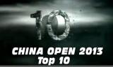 【技術】 中国オープン・トップ10ショット!