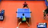 【卓球】 マテネVSフランチスカ 日本オープン2013