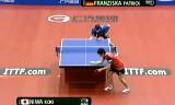【卓球】 丹羽孝希VSフランチスカ 日本オープン2013