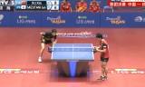 【卓球】 日本VS中国(決勝戦)アジア選手権2013