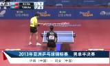 【卓球】 許昕VS閻安(準決勝)アジア選手権2013