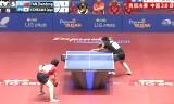 岸川聖也VS樊振東 アジア選手権2013