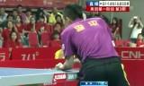 【卓球】 方博VS李平 中国超級リーグ2013