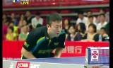 【卓球】 馬琳VSハオ帥 中国超級リーグ2013