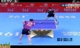 【卓球】 馬琳VS王皓(1節)中国超級リーグ2013