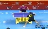 【卓球】 オフチャロフVS尚坤 中国超級リーグ2013