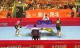 【卓球】 馬琳VS周雨 中国超級リーグ2013