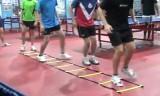 卓球でも有効なコーディネーションフットワーク