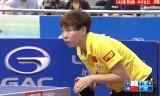 【卓球】 朱雨玲VS鄭怡静 中国オープン2013(準々)