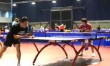 石川佳純の試合前の練習(世界卓球2011)