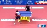 【卓球】 朱世赫VS陳衛星 アジアヨーロッパ2013