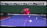 中国選手の技術指導2(ストップその他)