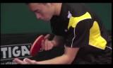 中国選手の技術指導1(サービス技術)