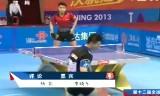 【卓球】 馬龍VS王皓 (準決勝)全中国運動会2013