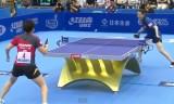 【卓球】 馮天薇VS姜華珺 女子ワールドカップ