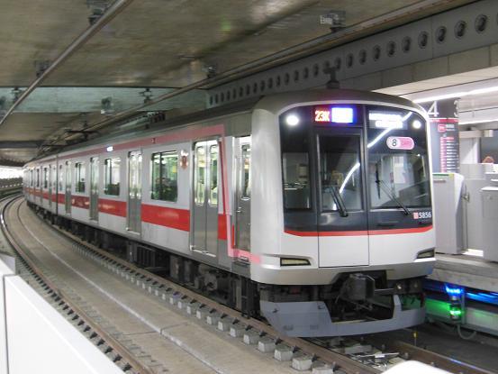 新渋谷駅の東横線