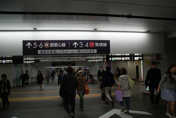 渋谷駅地下通路