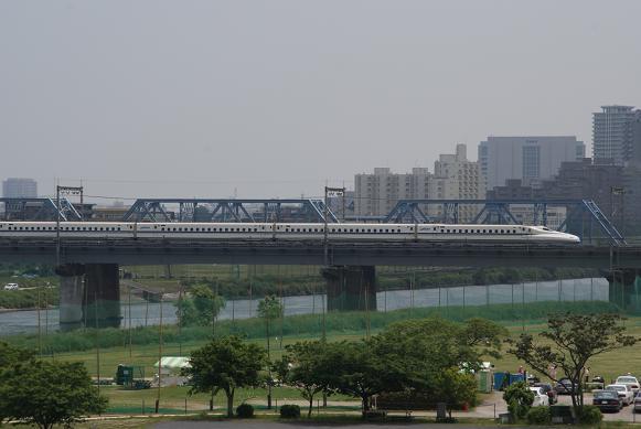 丸子橋からのN700