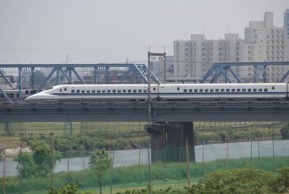 丸子橋からのN700-2