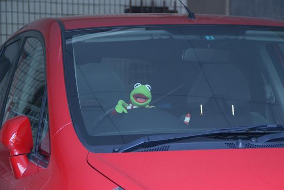蛙のドライバー