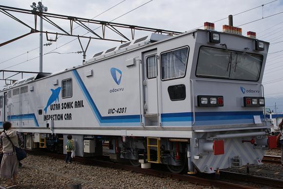 小田急工事車両1