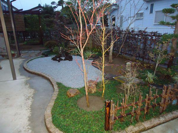 白川砂の庭