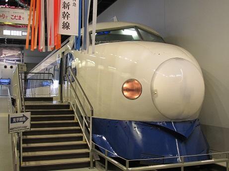 鉄道博物館に保存されている21-2、保存されている0系の中ではもっとも原型に近い形で保存されている