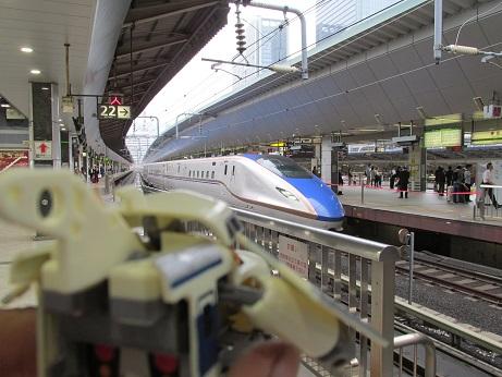 最近の新幹線はこうなっておるのか~