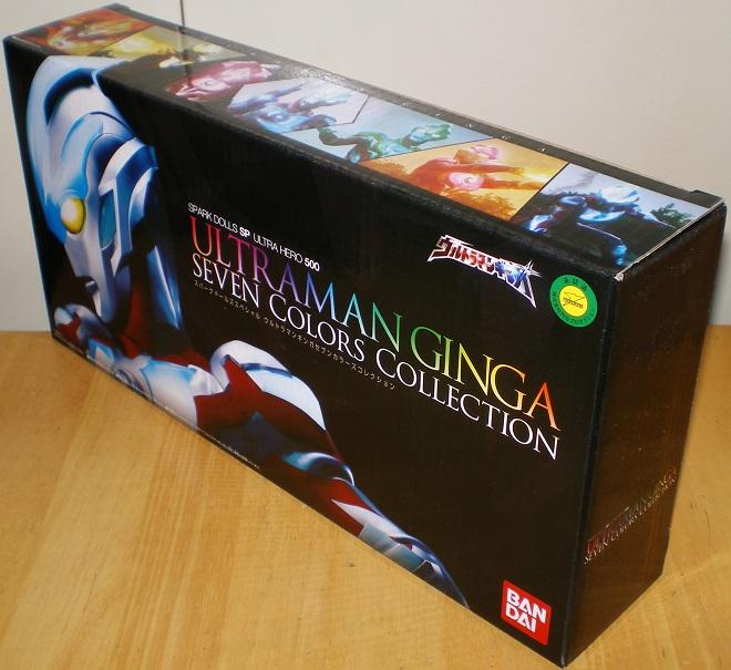 ウルトラヒーロー500 ウルトラマンギンガ セブンカラーズコレクション