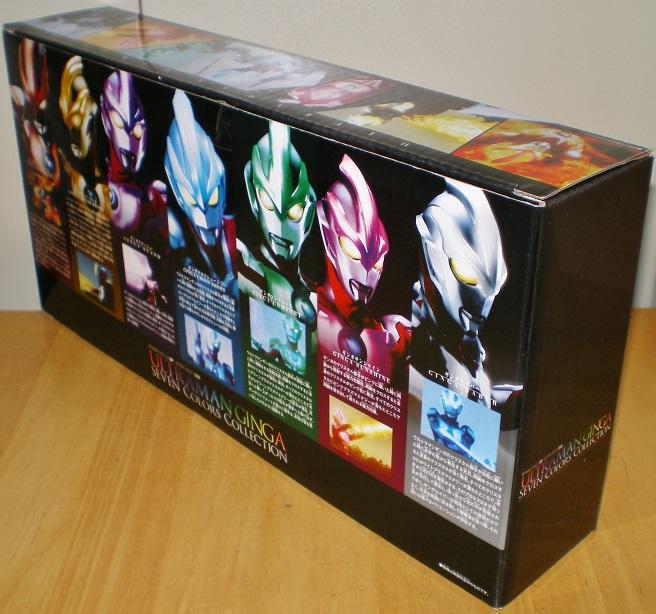 ウルトラヒーロー500 ウルトラマンギンガ セブンカラーズコレクション0
