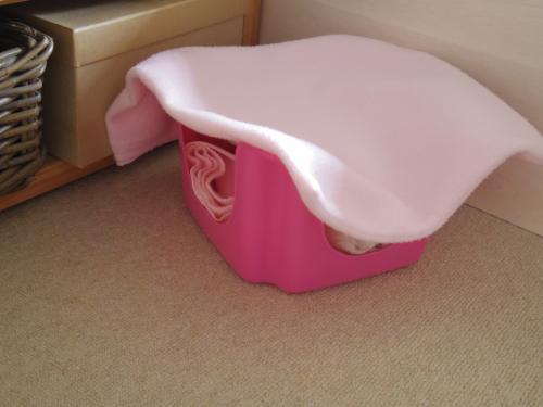 新しいベッド2
