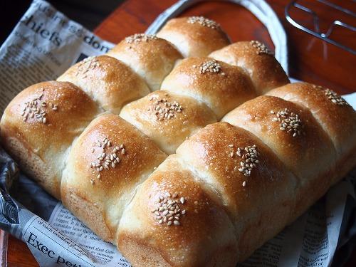 HBクリームちぎりパン1
