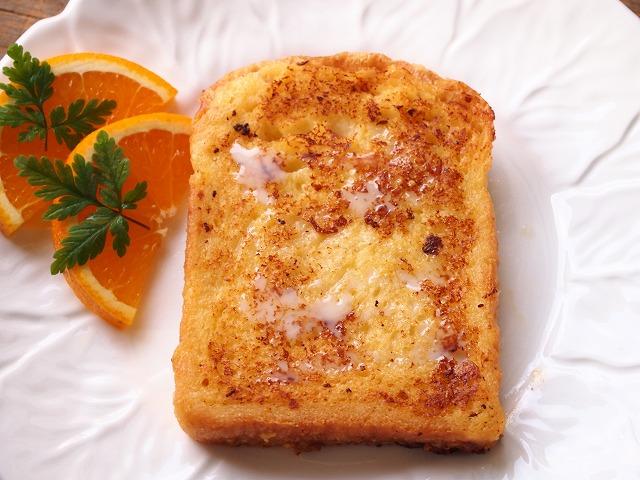 オレンジ・ヨーグルトフレンチトースト1