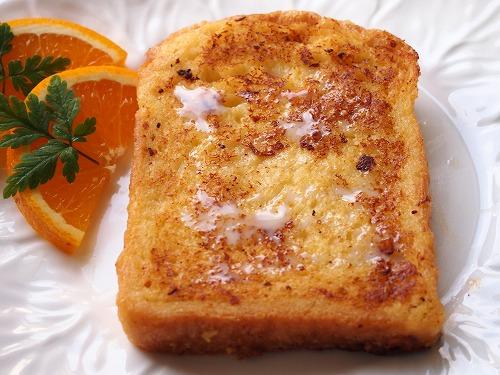 オレンジ・ヨーグルトフレンチトースト2
