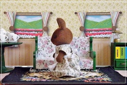 ブラウンウサギ母