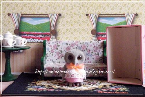 フクロウお母さん