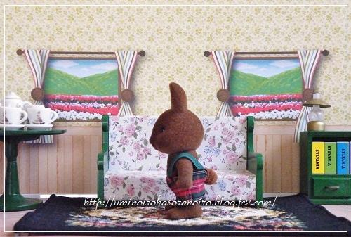 ブラウンウサギ男の子