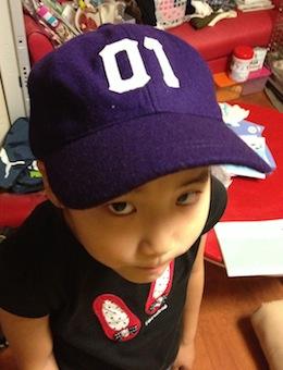 原宿の帽子専門店で、エヴァとのコラボ商品を限定販売してました。