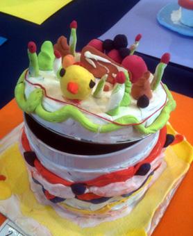 「ひよこケーキ」