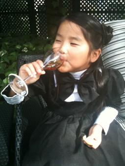 娘ヒヨコもセレモニーに出席しました。