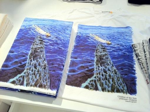 五十嵐大介「海獣の子供」×BEAMSコラボTシャツ