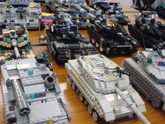 各国戦車集合