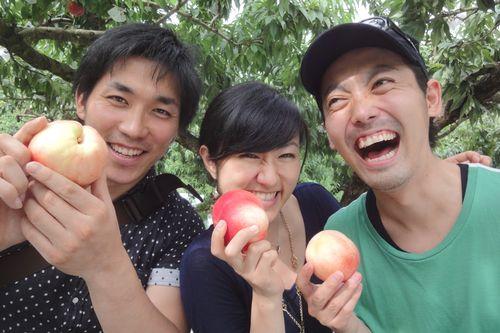 山梨おすすめ桃狩り体験日本一の桃狩り農園