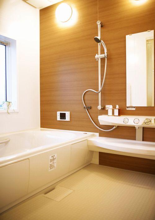 デザインのいい風呂バスルーム昭和住宅公園周辺おすすめ工務店ハウスメーカー