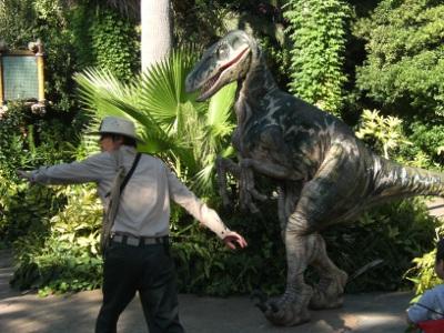 USJの恐竜